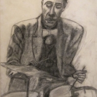 Jimmy Lovelace - conte crayon